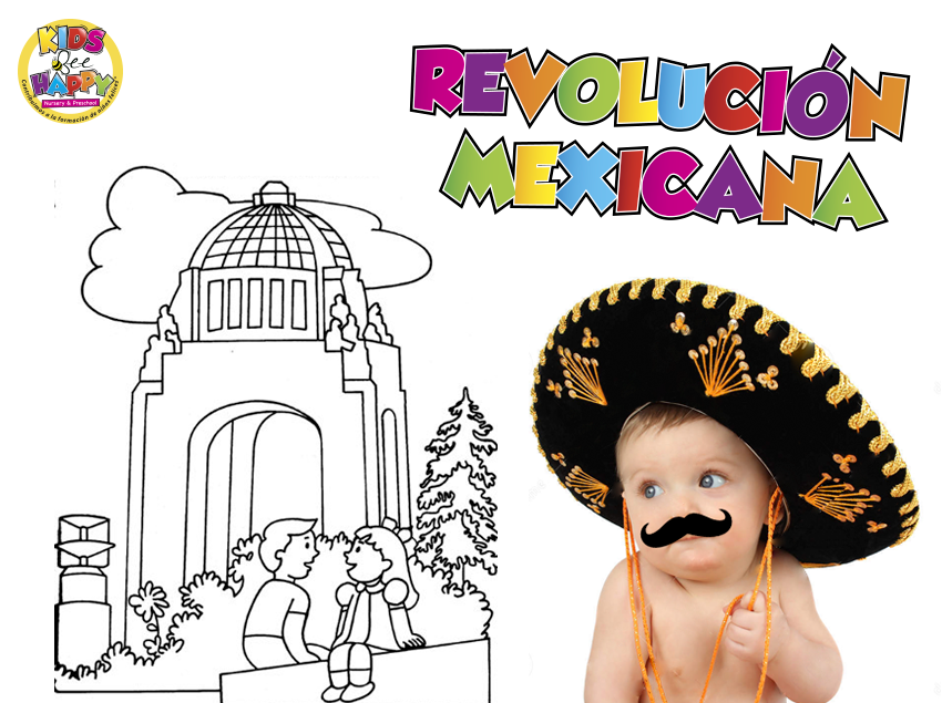Revolución Mexicana - Kids Bee Happy - Guardería en Santa Fe